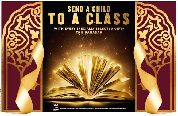 Education is the greatest gift: This Ramadan, The Body Shop is teaming up with War Child
