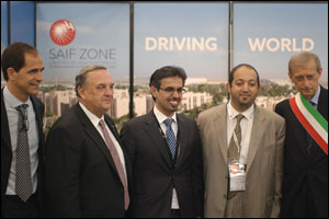 Sharjah  free zones enhances its trade relations at World Chambers Congress in Italy