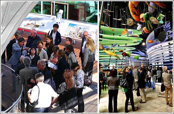 """German Pavilion """"Fields of Ideas"""" ready for visitors at Expo Milano 2015"""