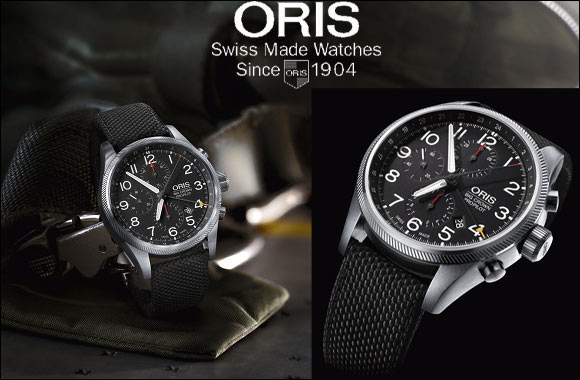 World Traveller The new Oris Big Crown ProPilot Chronograph GMT