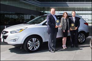 Hyundai reaffirms its position as one of the world's leading automotive manufacturers thanks to pres ...