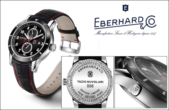Eberhard & Co. presents the Limited Edition Tazio Nuvolari 336 as an extraordinary Eid gift for the special man