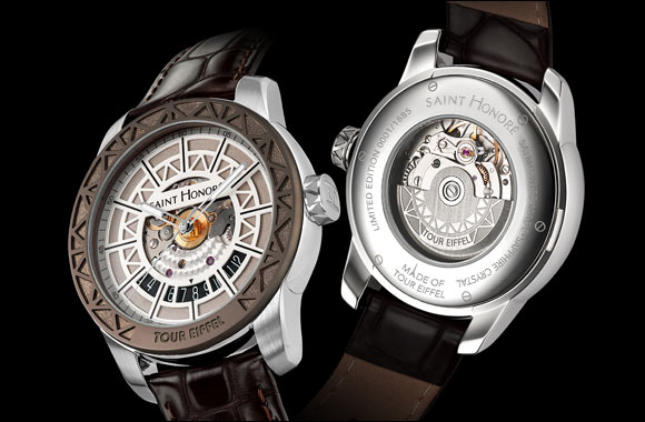 """The """"Tour Eiffel"""" Timepiece an ideal special Eid Gift"""