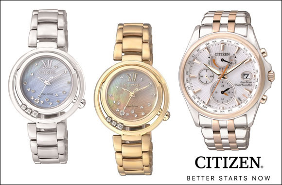 CITIZEN L Sunrise series / CITIZEN PROMASTER Eco-Drive* Racing Chronograph