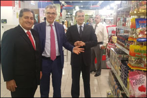 Ambassador of Italy visits Al Maya Supermarket