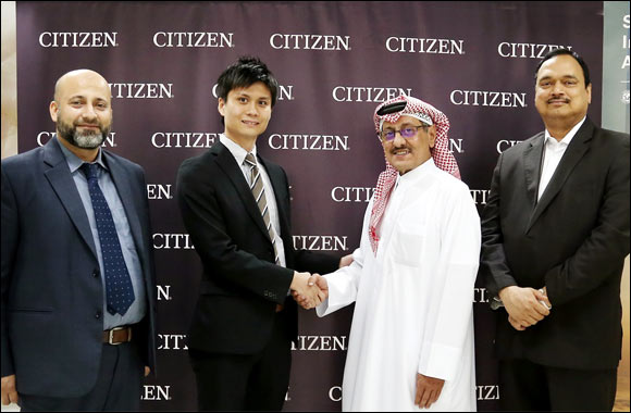 Citizen watches appoints Marzooq Al Shamlan & Sons as official retailer in Qatar