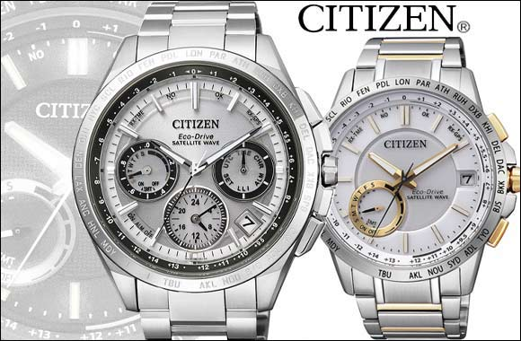 New range of Citizen SATELLITE WAVE -GPS features the world's fastest satellite signal reception
