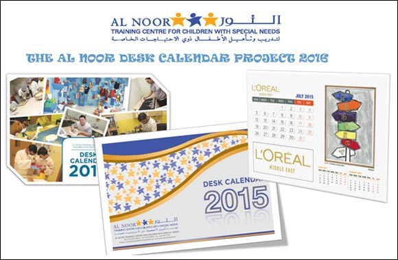 Al Noor seeks calendar sponsorships for 2016
