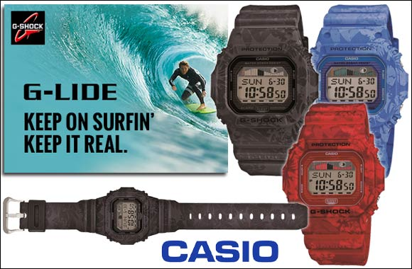 New G-LIDE from Casio -GLX-5600 inspired by the exhilarating spirit of surfing
