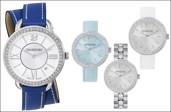 Swarovski 2015 Women's Watch Collection - Fashionable Timepieces for everyday wear - at Paris Gallery