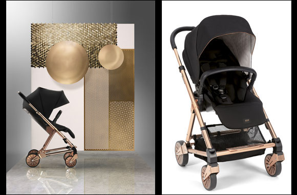 Urbo² Rose Gold Deluxe Stroller By Mamas and Papas