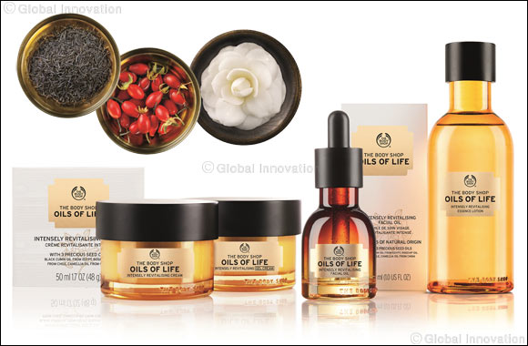 New Life for your Skin: It's not a miracle but it's close. The Body Shop introduces Oils of Life
