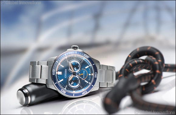 Men's Marine Sports Watch from CITIZEN hits UAE outlets