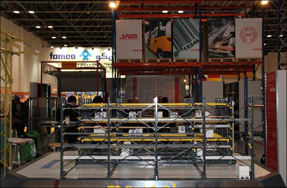 FAMCO spearheads UAE charge at Materials Handling Middle East 2015 with latest warehousing and storage solutions
