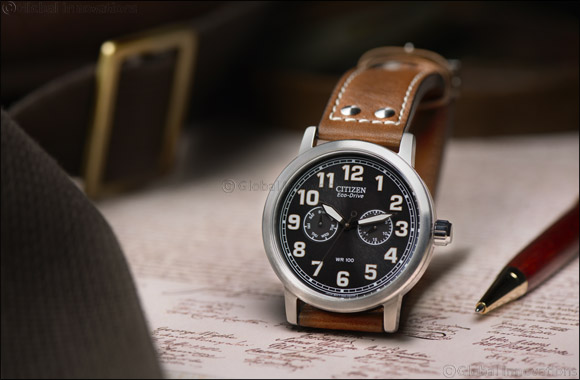 Vintage-inspired Eco Drive for Gents from CITIZEN.