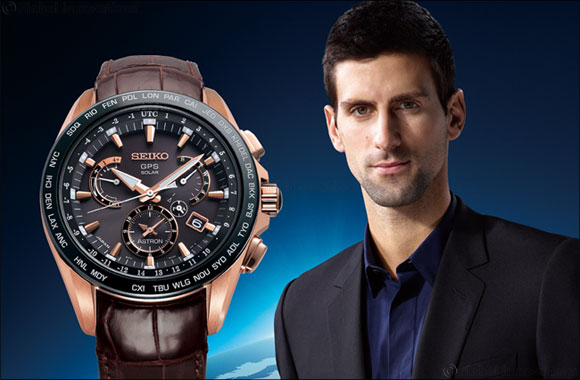 Seiko Astron GPS Solar Dual Time - a winning solution for Djokovic