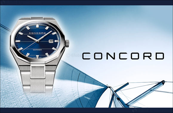 CONCORD'S new Mariner in Cobalt Blue Dial for men
