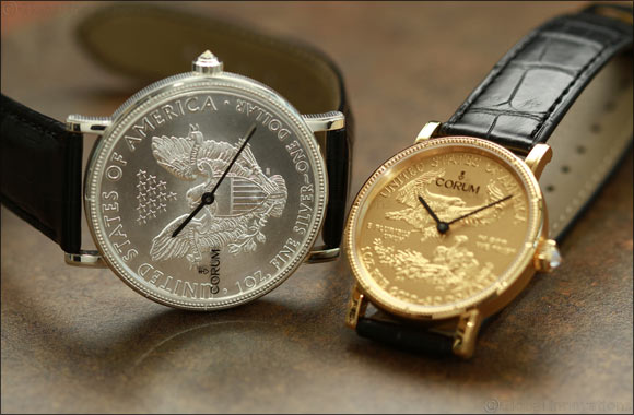 CORUM launches Limited Edition Coin watches