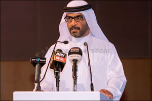 Hamdan Bin Mohammed Heritage Center holds a press conference to launch the Fazza Championships 2015- ...