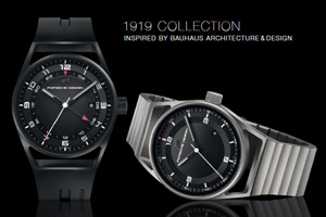 Porsche Design presents an exclusive timepiece collection in Bauhaus style The �1919 Collection&quot ...