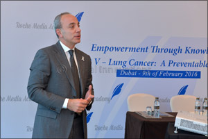 Medical experts urge UAE residents to be aware of the risk factors associated with Lung Cancer