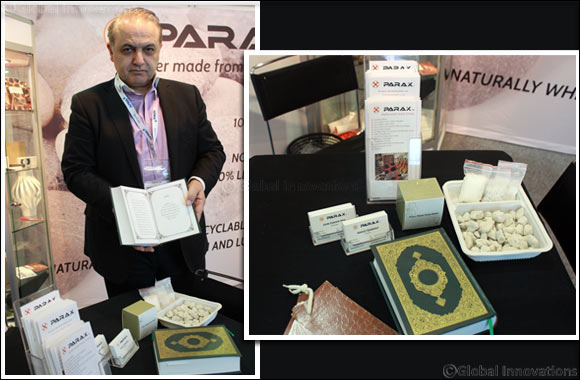 Holy Quran made of Stone Paper attracts attention at Paperworld Middle East 2016