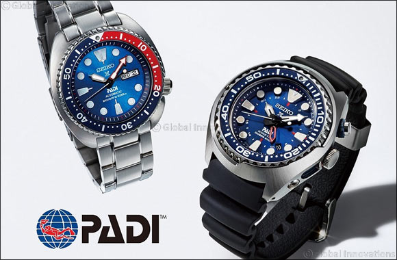 Seiko unveils Prospex Special Edition to celebrate joining PADI initiative to protect oceans