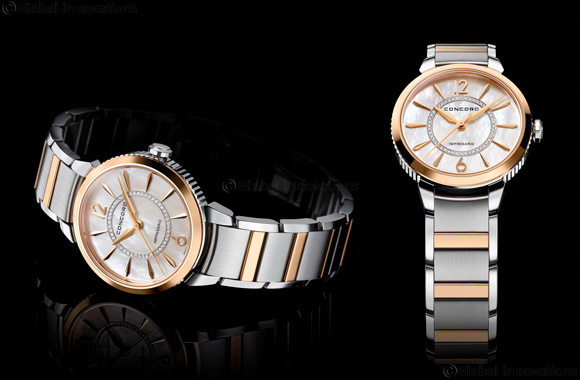 Concord creates impression with Impresario in rose gold and steel