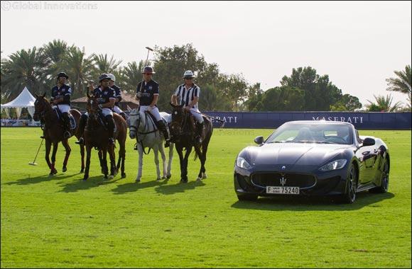 Maserati Polo Tour 2016 in collaboration with La Martina gains speed in Dubai: Desert Palm wins 1st Maserati Dubai Polo Challenge