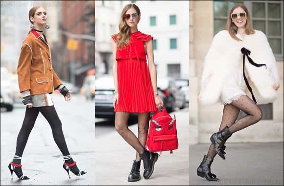 Interview with Star Fashion Blogger Chiara Ferragni for Calzedonia