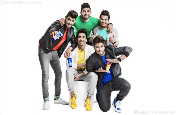 Teen skincare brand Clean&Clear® teams up with boy band sensations The5 to create summer's new hit single #SeeTheRealMe