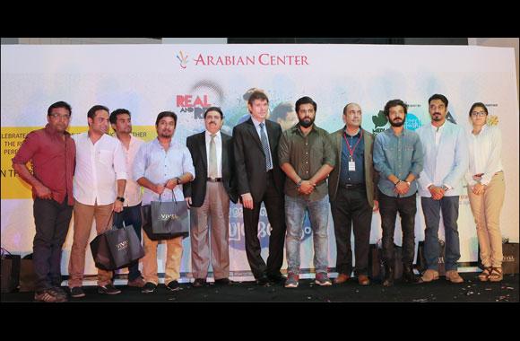 Nivin Pauly of Jacobinte Swargarajyam Fame Visits Arabian Center