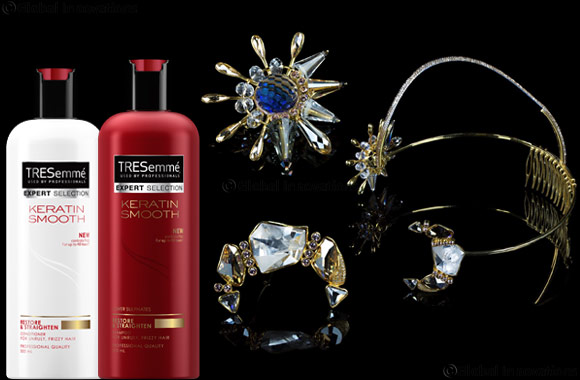 TRESemmé Arabia Collaborates with Vinita Michael for Exclusive Headpiece