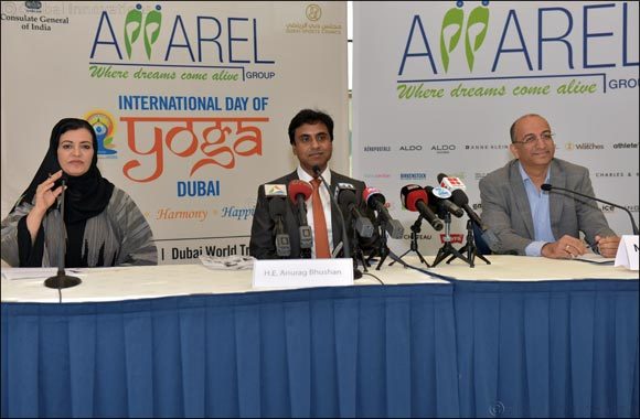 International Yoga Day Press Conference