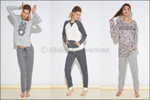 04e78bc6439570 Dubai, UAE, June 18, 2016: This spring, Tezenis' sleepwear collection is a  twist of irony, style and creativity where bon-ton designs and classy  colors meet ...