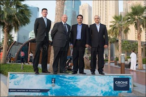 GROHE and THE BEACH opposite JBR announce new summer partnership