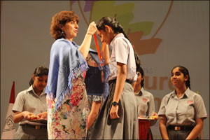AMSI Chief Academic Officer Inspires Students at Investiture Ceremony