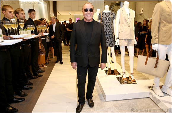 Michael Kors Celebrates The Opening Of Its Largest European Flagship On Regent Street In London