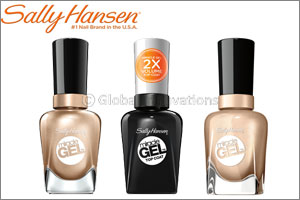 SALLY HANSEN presents the COLOR of the MONTH: Miracle Gel �Game of Chromes�