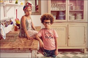 MANGO KIDS Summer portraits