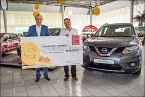Arabian Automobiles Company reins in lucky winners this Ramadan