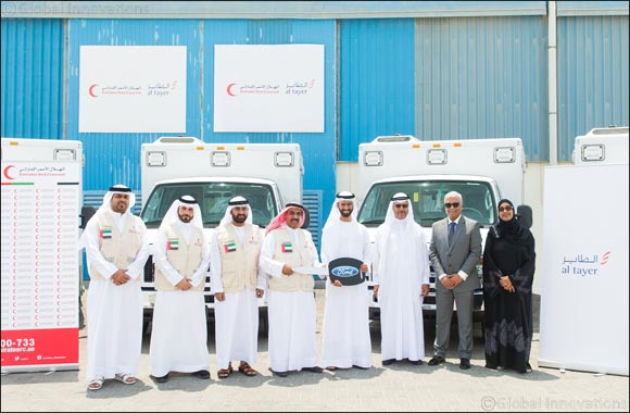 Al Tayer Group Donates Ten Ambulances to Emirates Red Crescent