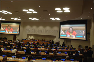 Dubai girl youngest speaker at United Nations Women's International Youth Day Event in New York