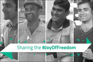 Aster delights workers in Dubai with #JoyOfFreedom to celebrate Indian Independence Day