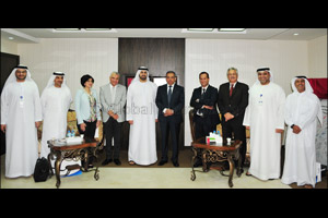 Emirates Post Group welcomes delegation from Egypt Post