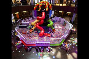 The Giant Ball Pit Keeps Getting Better: New Features Thrill The Dubai Mall's Youngest Fans