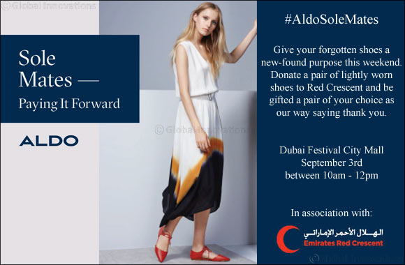 ALDO gives your Worn shoes a New Purpose
