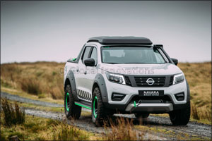 Nissan Navara EnGuard Concept: the ultimate all-terrain rescue pick-up with portable EV battery powe ...