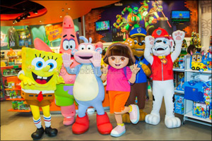 Nickelodeon Store Opens in the Dubai Mall!