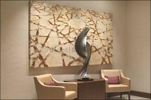 The French Art Design Studio: ARTASA, contributed to the signature interior of the public area of th ...
